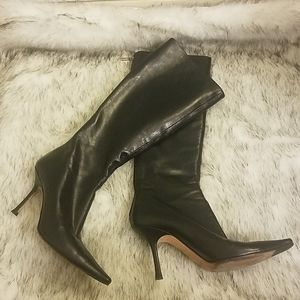 Jimmy Choo leather boots